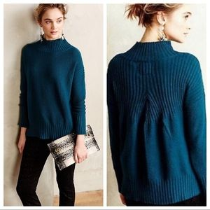 Angel Of The North Aisla Pullover Sweater In Teal